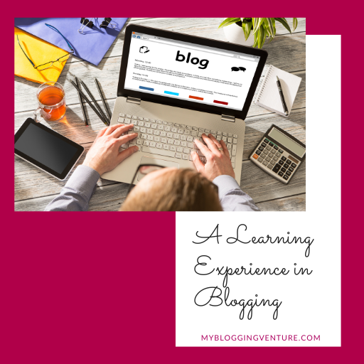 a learning experince in blogging